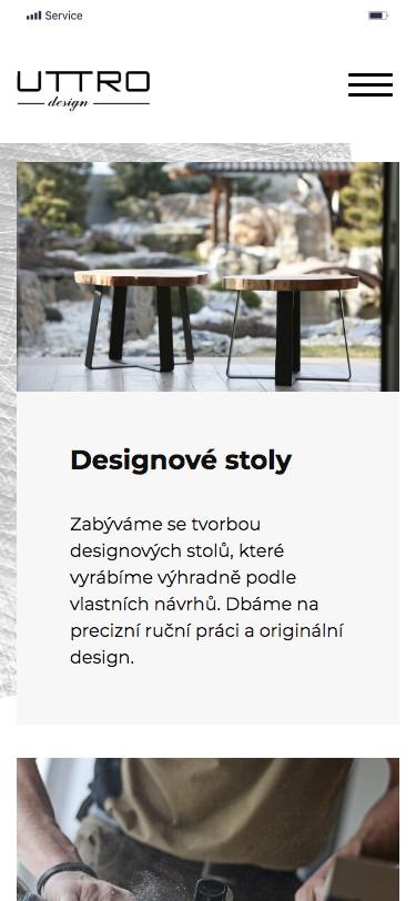 Designové stoly Uttro